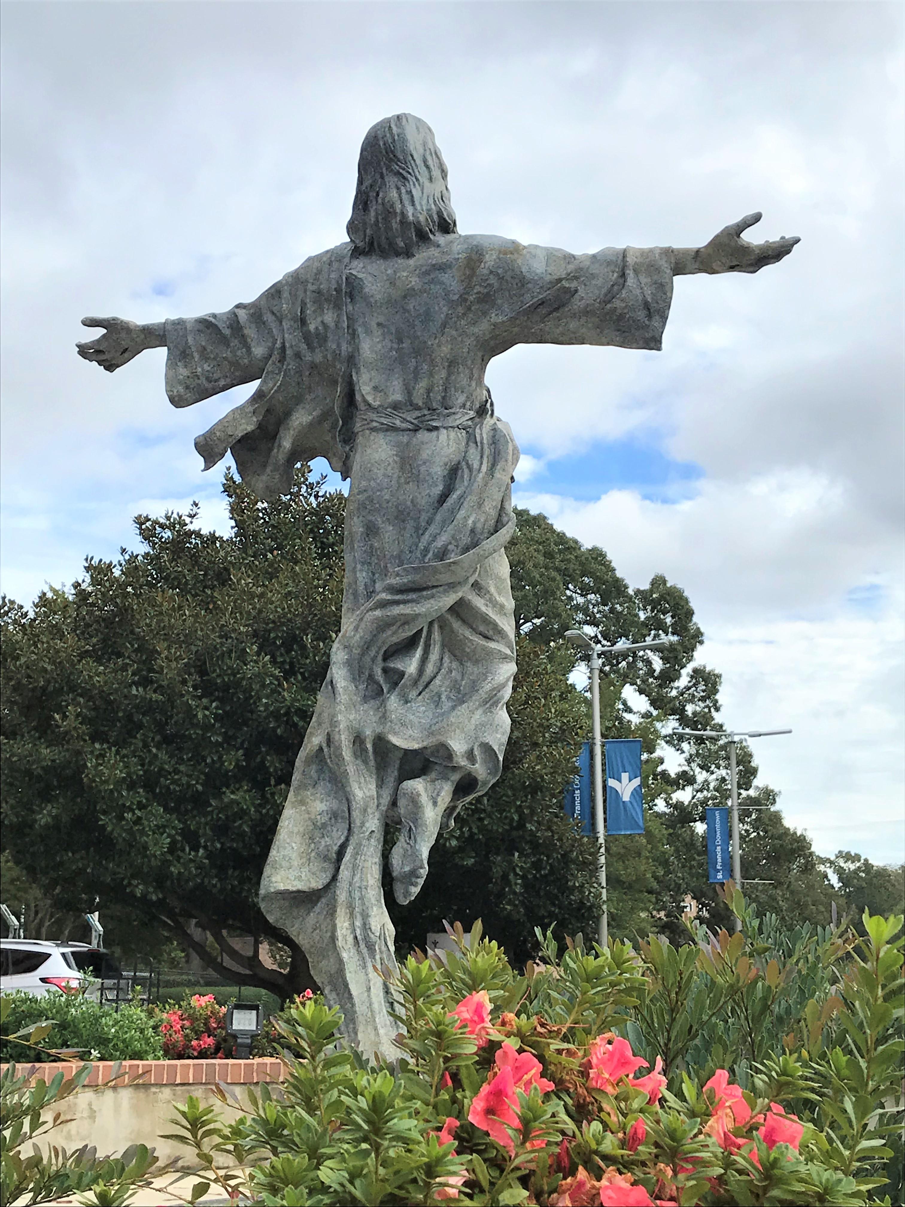 greenville, sculpture, artist, south carolina, sc, monument, christian, jesus, catholic, christ, sacred