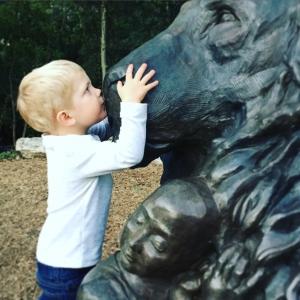 bronze, sculpture, face, child, portrait, greenville, sculpture, artist, south carolina, sc,
