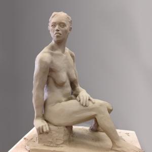 bronze, sculpture, park, greenville, sculpture, artist, south carolina, sc, portrait, art